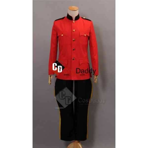 Due South Royal Canadian Red Mountie Serge Uniform...