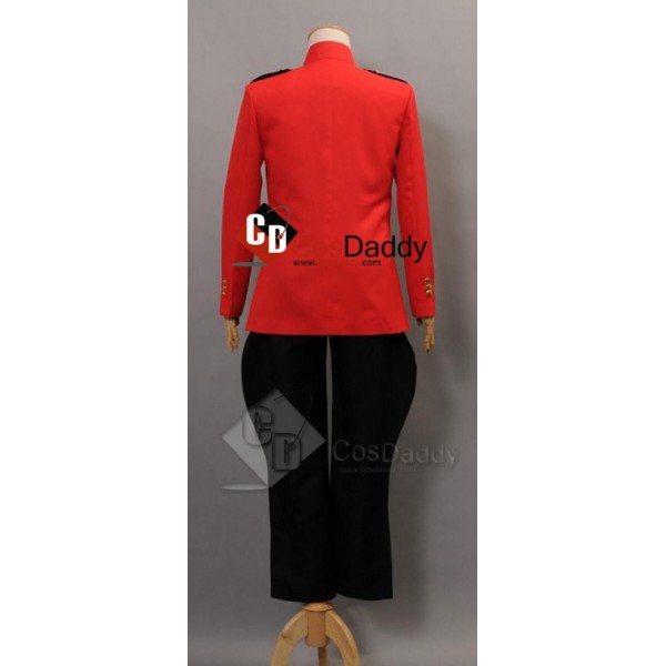 Due South Royal Canadian Red Mountie Serge Uniform Tunic Cosplay Costume