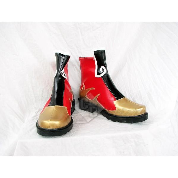 Dynasty Warriors Zhou Yu Cosplay Boots Shoes