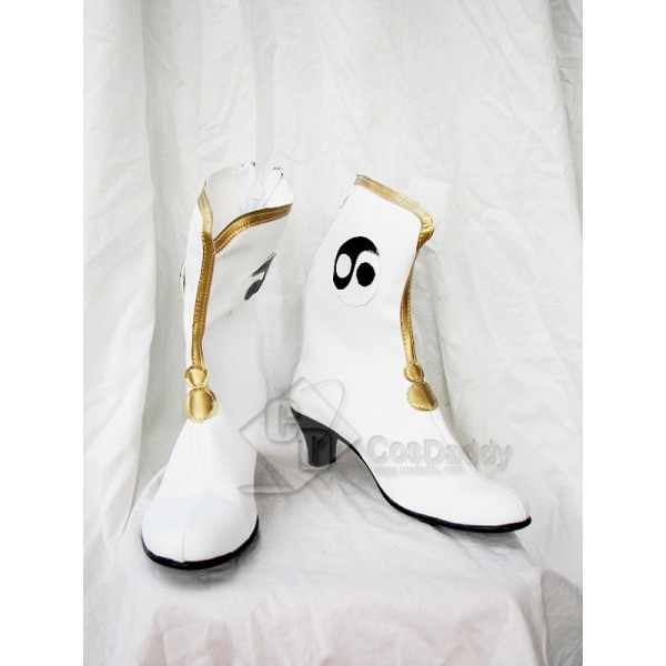 Dynasty Warriors Zhuge Liang Female Version Cosplay Boots Shoes
