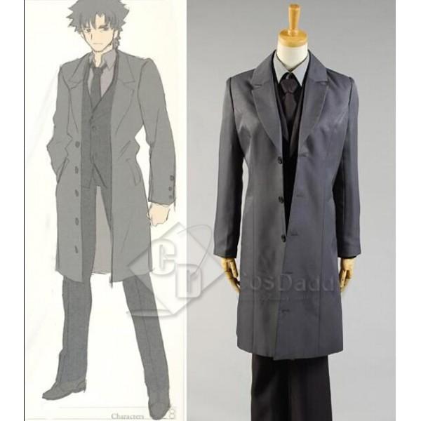 Fate Zero Saber Suit Uniform Cosplay Costume