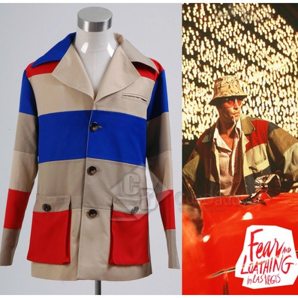 Fear and Loathing in Las Vegas Johnny Depp Jacket Cosplay Costume