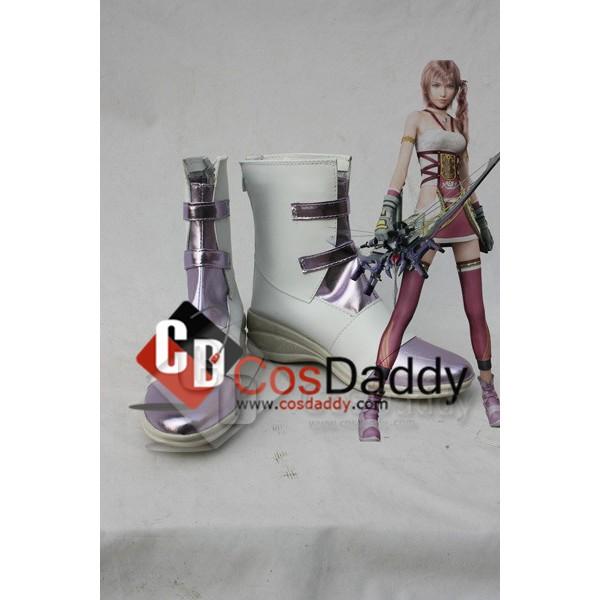 FF13-2 Final Fantasy XIII-2 Serah Cosplay Boots Sh...