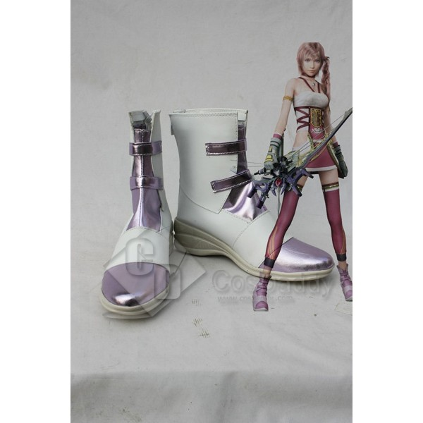FF13-2 Final Fantasy XIII-2 Serah Cosplay Boots Shoes
