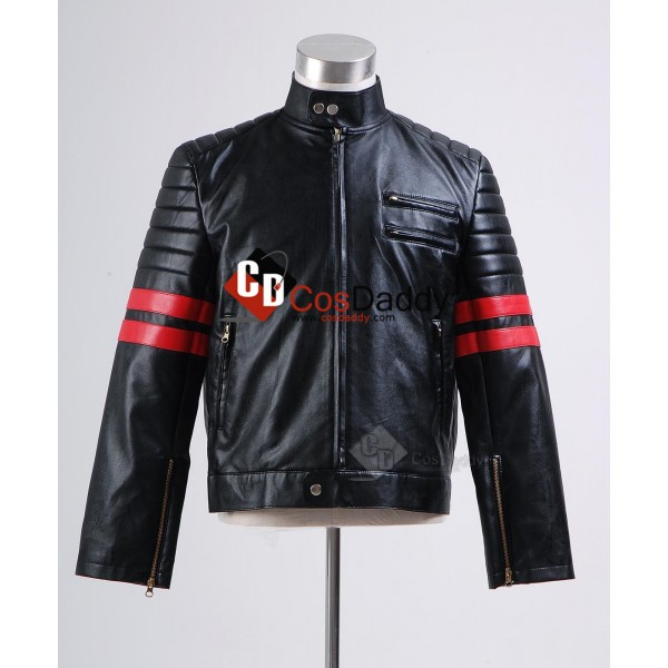 Fight Club Tyler Durden Black and Red Jacket Cospl...