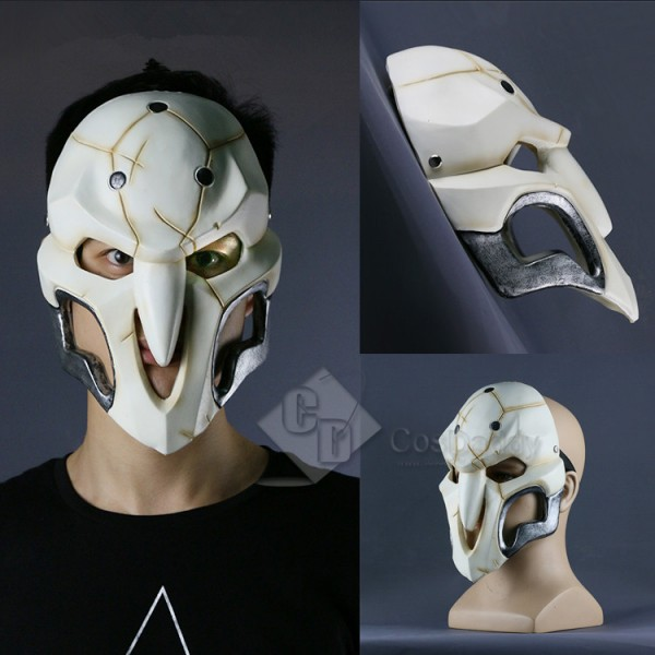 Cosdaddy Overwatch Reaper Gabriel Reyes' Mask Cosplay Prop
