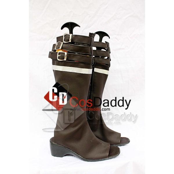 Final Fantasy 13 Oerba Yun Fang Cosplay Boots Shoes