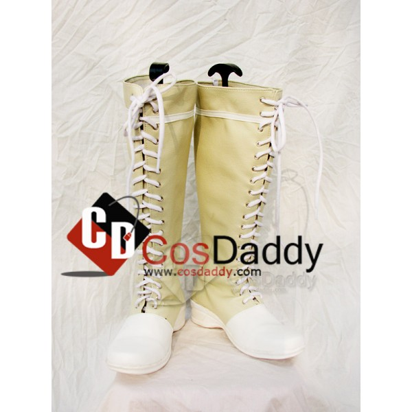 Final Fantasy 7 Yuffie Cosplay Boots Shoes