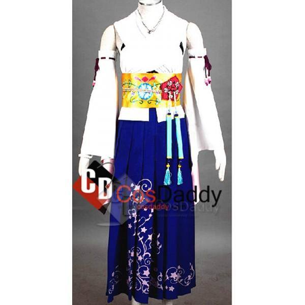 Final Fantasy ⅩYuna Dress Kimono Unifrom Full Se...
