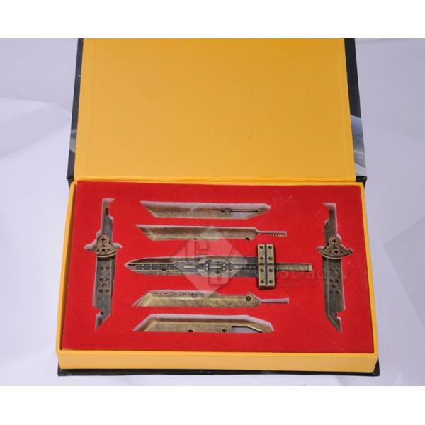 Final Fantasy Cloud Strife Mini Sword Collection Set Color Copper Prop