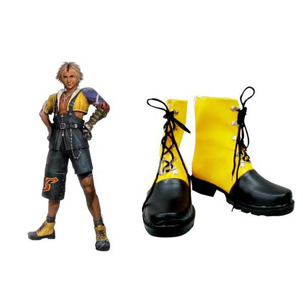 Final Fantasy Tidus Cosplay Boots Rubber Shoes