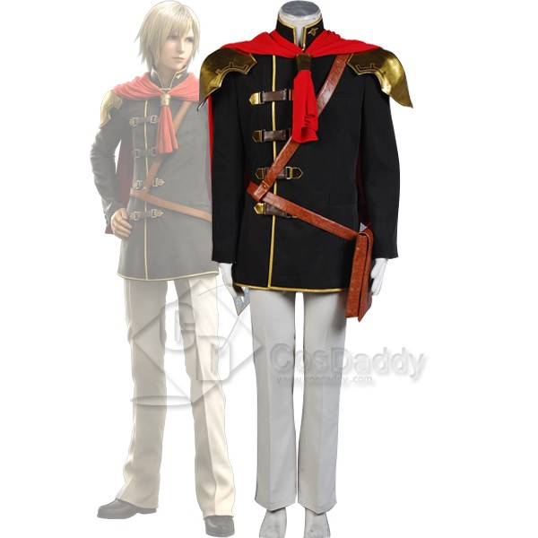 Final Fantasy Type-0 FF Zero Ace Cosplay Costume