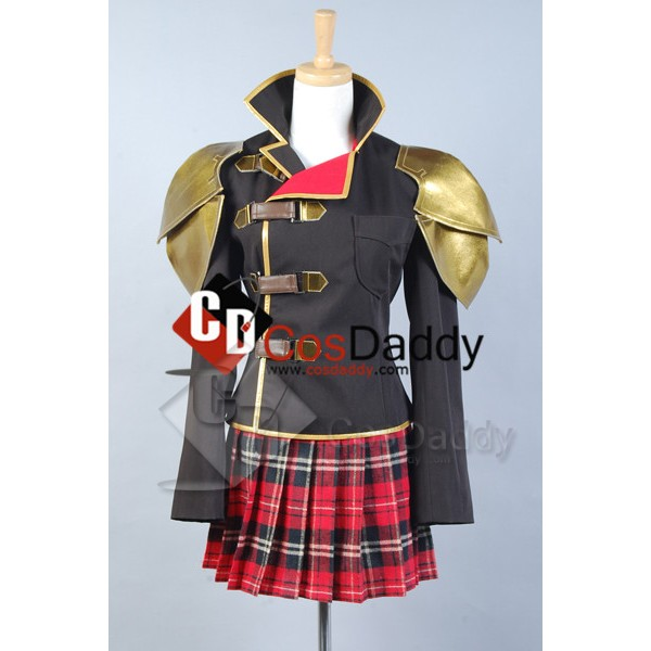 Final Fantasy Type-0 FF0 Seven Cosplay Costume Ver...