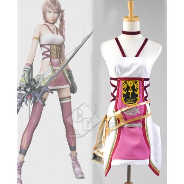 Final Fantasy XIII-2 FF 13-2 Serah Farron Cosplay Costume