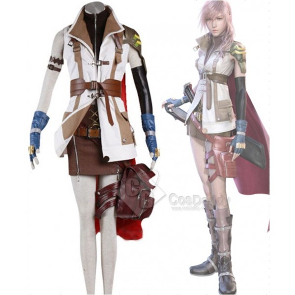 Final Fantasy XIII FF 13 Lightning Cosplay Costume