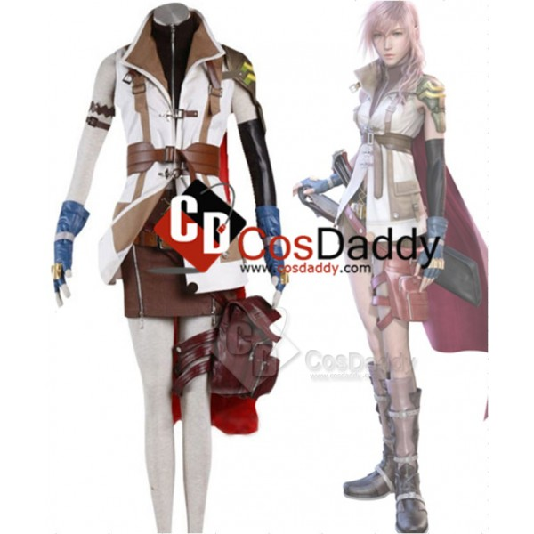 Final Fantasy XIII FF 13 Lightning Cosplay Costume...