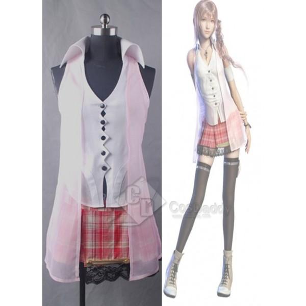 Final Fantasy XIII FF 13 Serah Farron Cosplay Costume