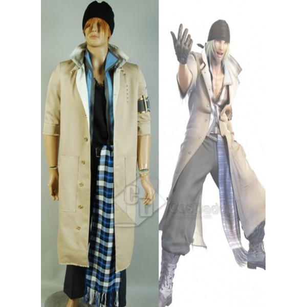 Final Fantasy XIII FF XIII Snow Villiers Cosplay Costume