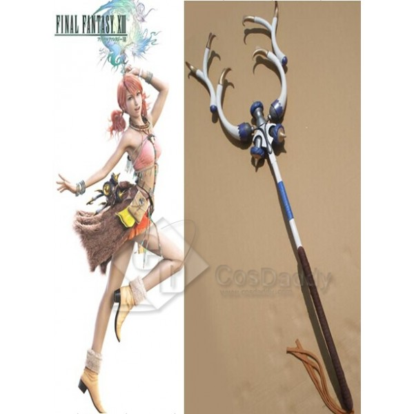 Final Fantasy XIII Oerba Dia Vanille Fishing Pole Cosplay Prop