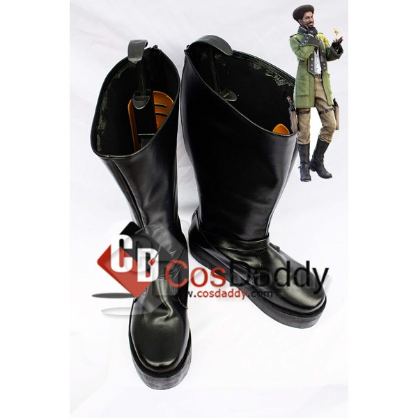 Final Fantasy XIII Sazh Katzroy Cosplay Boots Shoe...