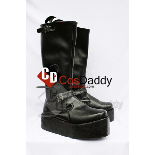 Final Fantasy XIII Sazh Katzroy Cosplay Boots Shoes