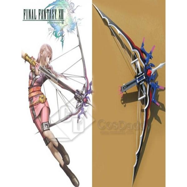 Final Fantasy XIII Serah Farron Bow and Arrow Cosplay Prop