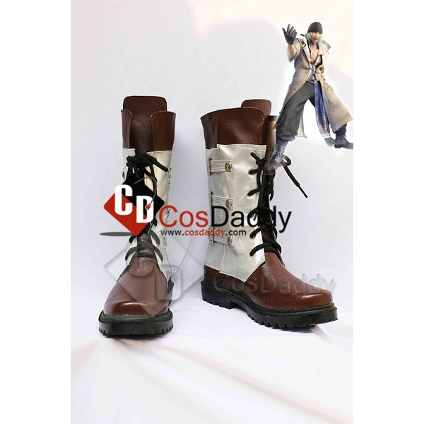 Final Fantasy XIII Snow Villiers Cosplay Boots Sho...