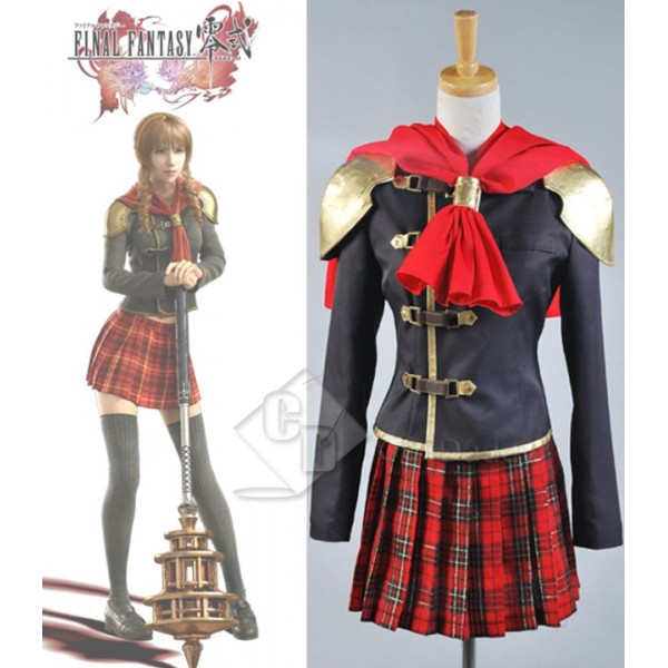 Final Fantasy Zero FF Type-0 Cater Cinque Cosplay Costume
