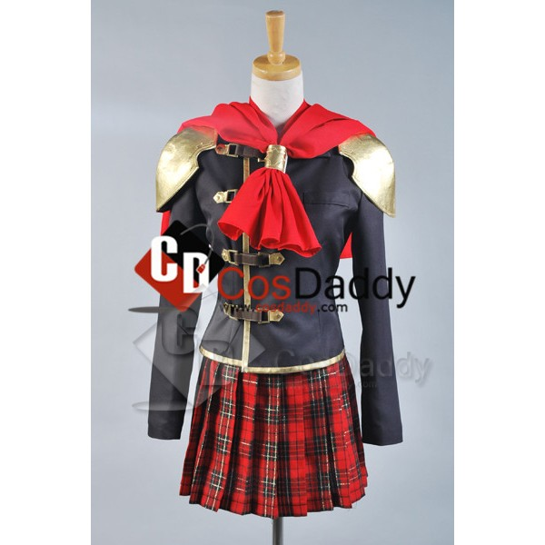 Final Fantasy Zero FF Type-0 Cater Cinque Cosplay ...