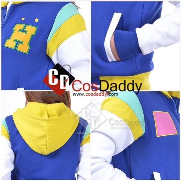 Free! Iwatobi Swim Club HarukaNanaseHoodie Jacket Cosplay Costume