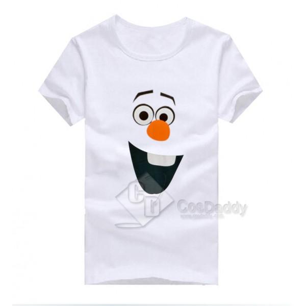 Frozen Olaf Snowman T-shirt Costume White