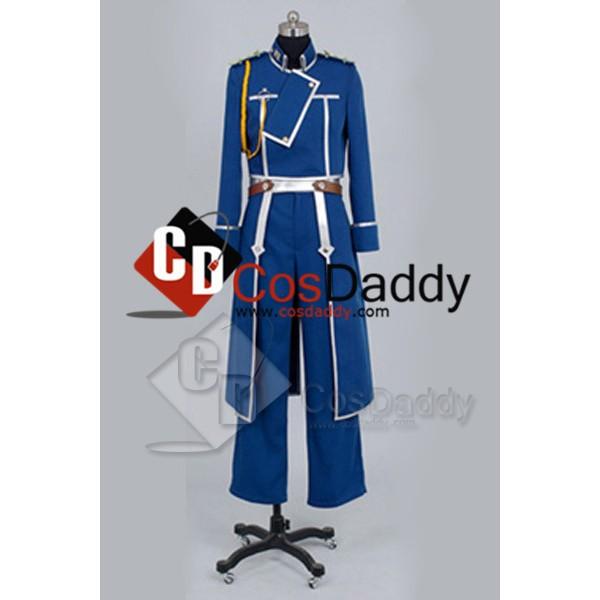 FullMetal Alchemist Roy Mustang Uniform Cosplay Co...