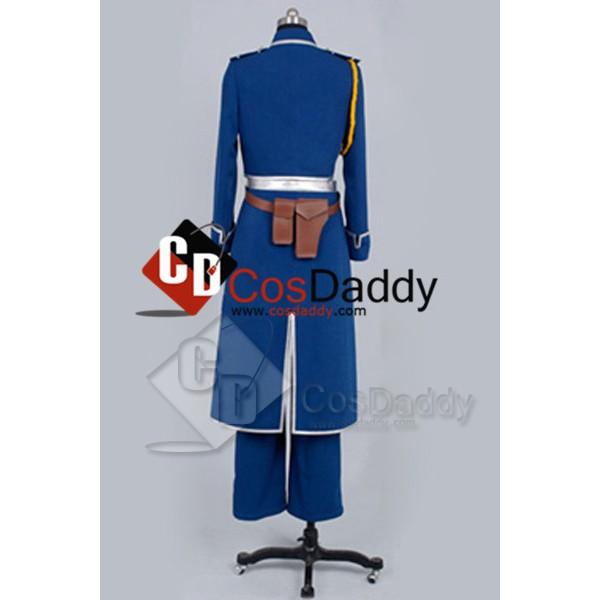 FullMetal Alchemist Roy Mustang Uniform Cosplay Costume