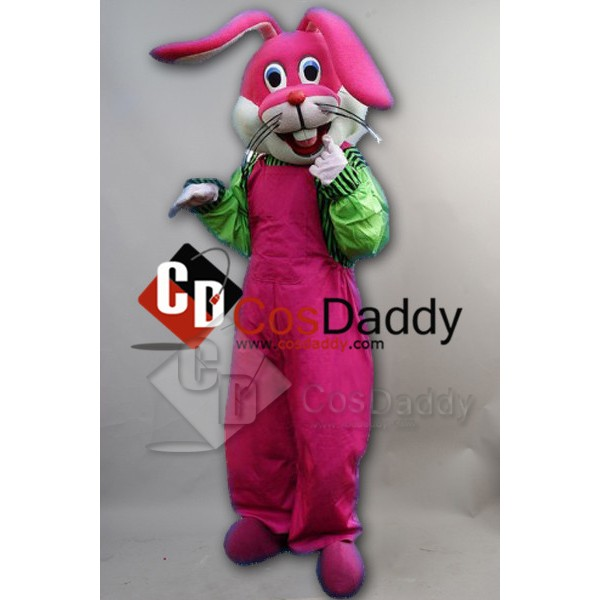 Funny Naughty Rabbit Mascot Costume