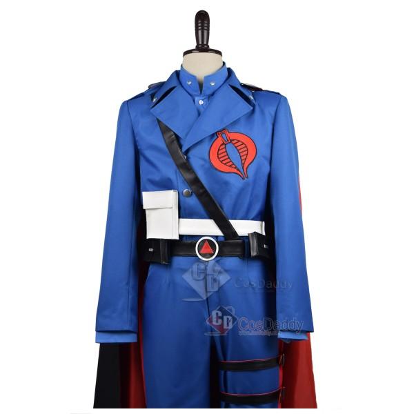 G.I.Joe: Retaliation Cobra Commander Uniform Cosplay Costume