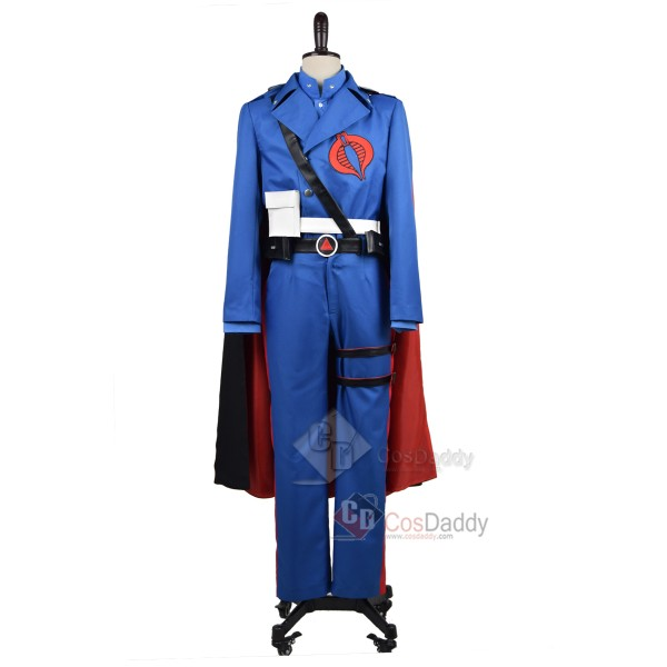 G.I.Joe: Retaliation Cobra Commander Uniform Cospl...