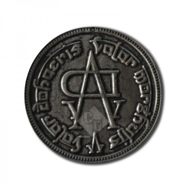 Game of Thrones Faceless Man Iron Coin