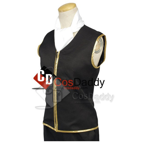 Gintama Shinsengumi Police Gold Soul Uniform Cosplay Costume