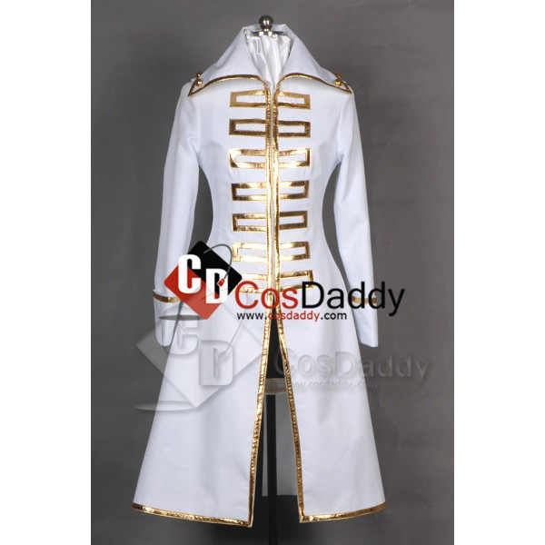 Gintama Shinsengumi Team White Female Jacket Cospl...