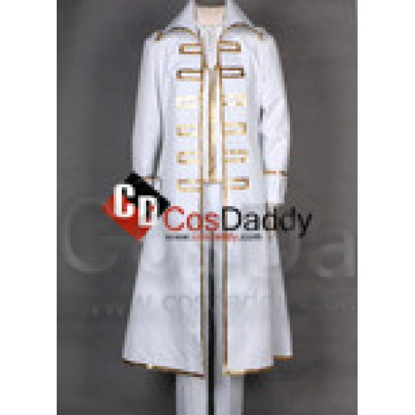 Gintama Shinsengumi Team White Male Outfit Cosplay...