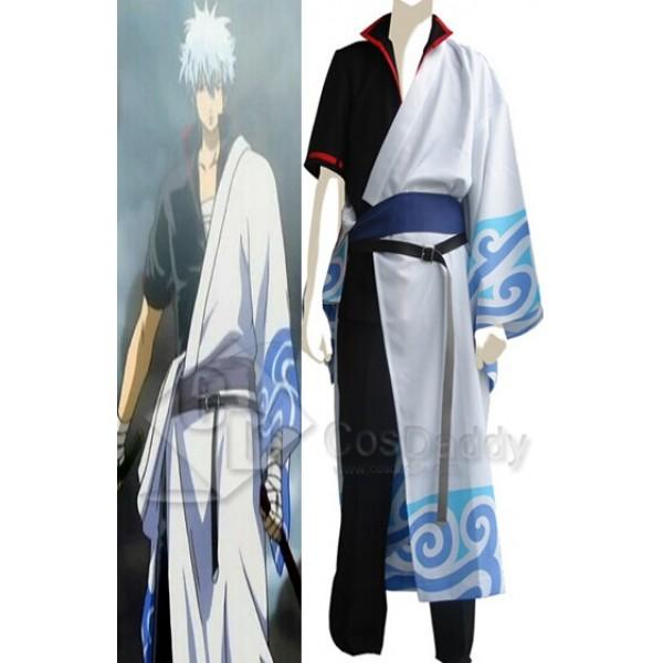 Gintama Silver Soul Gintoki Sakata Cosplay Costume
