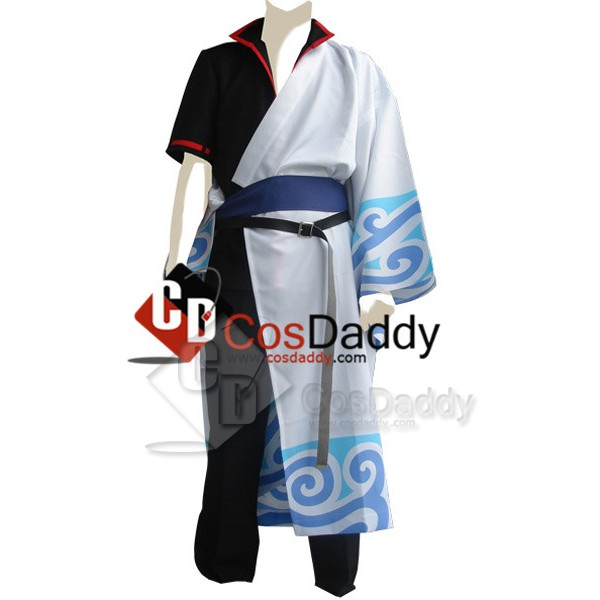 Gintama Silver Soul Gintoki Sakata Cosplay Costume...