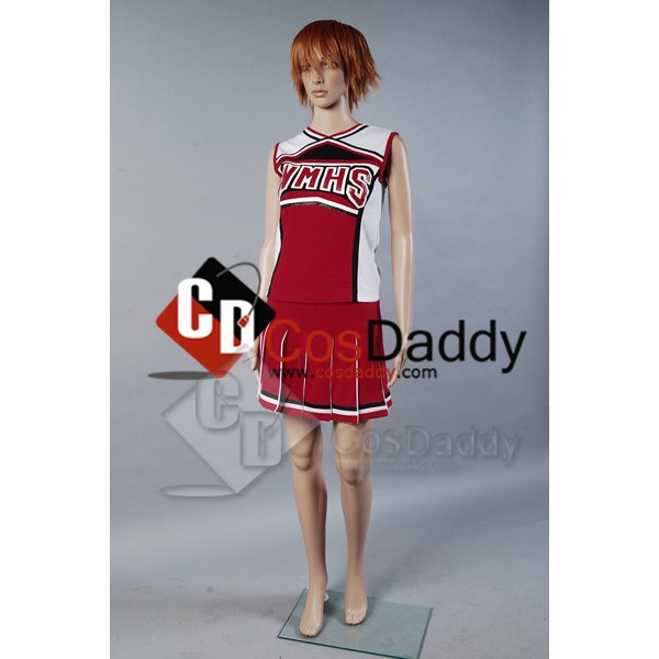 Glee Santana Lopez Cheering Squad Dress Cosplay Co...