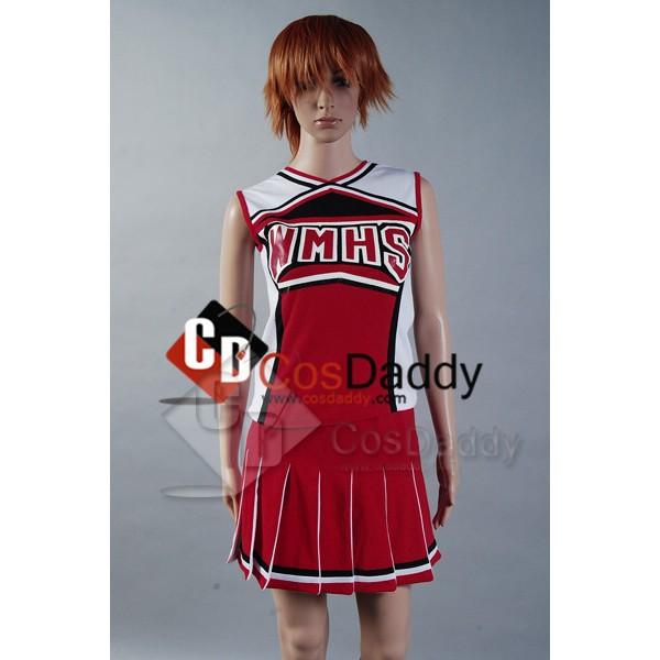 Glee Santana Lopez Cheering Squad Dress Cosplay Costume
