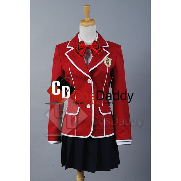 Guilty Crown Inori Yuzuriha School Uniform Cosplay...