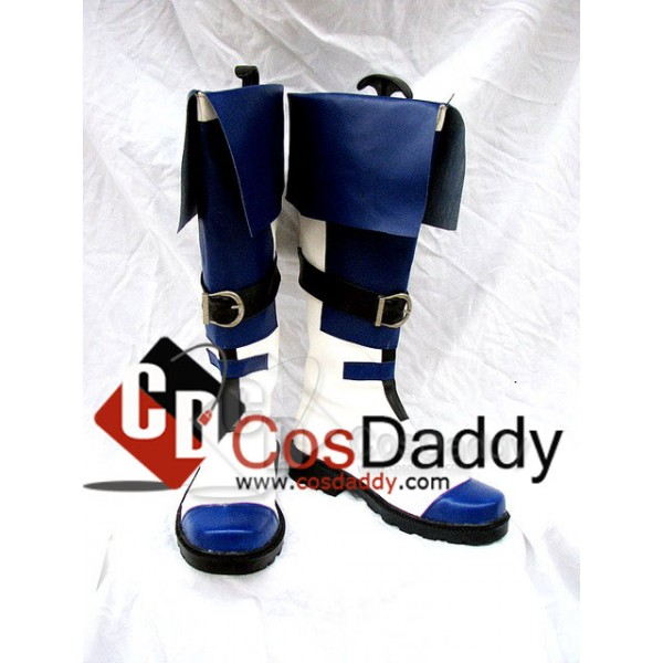 Guilty Gear KY Kiske Cosplay Boots Shoes Custom M...