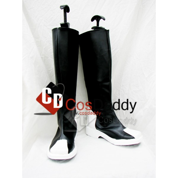 Gundam Seed Zaft Black Cosplay Boots Custom Made