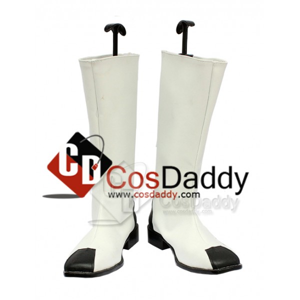 Gundam Seed Zaft White Cosplay Boots Custom Made