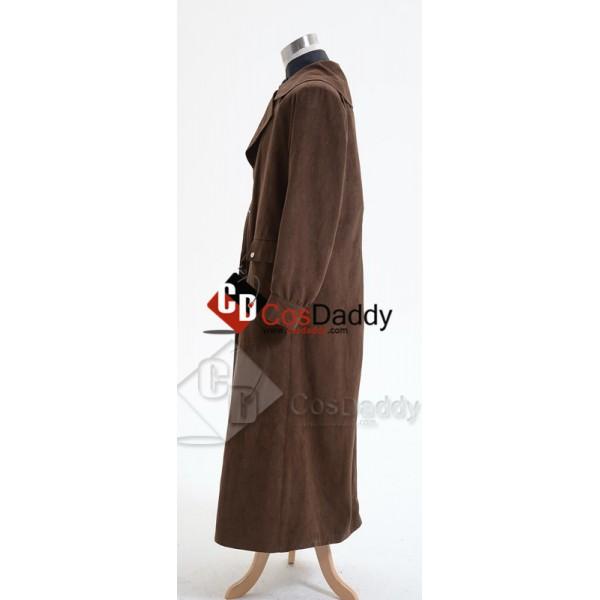 Harry Potter Alastor Moody Mad-Eye Trench Coat Vest Cosplay Costume