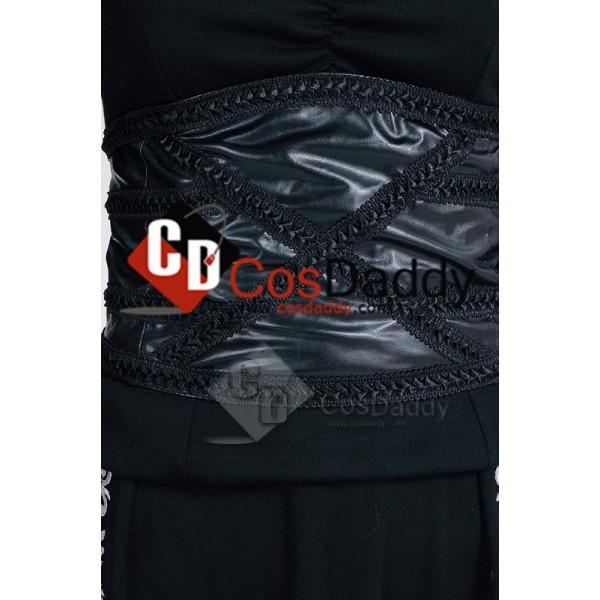Harry Potter Bellatrix Lestrange Black Dress Cosplay Costume